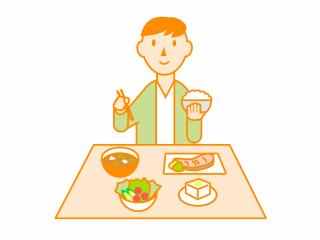 移植と食事